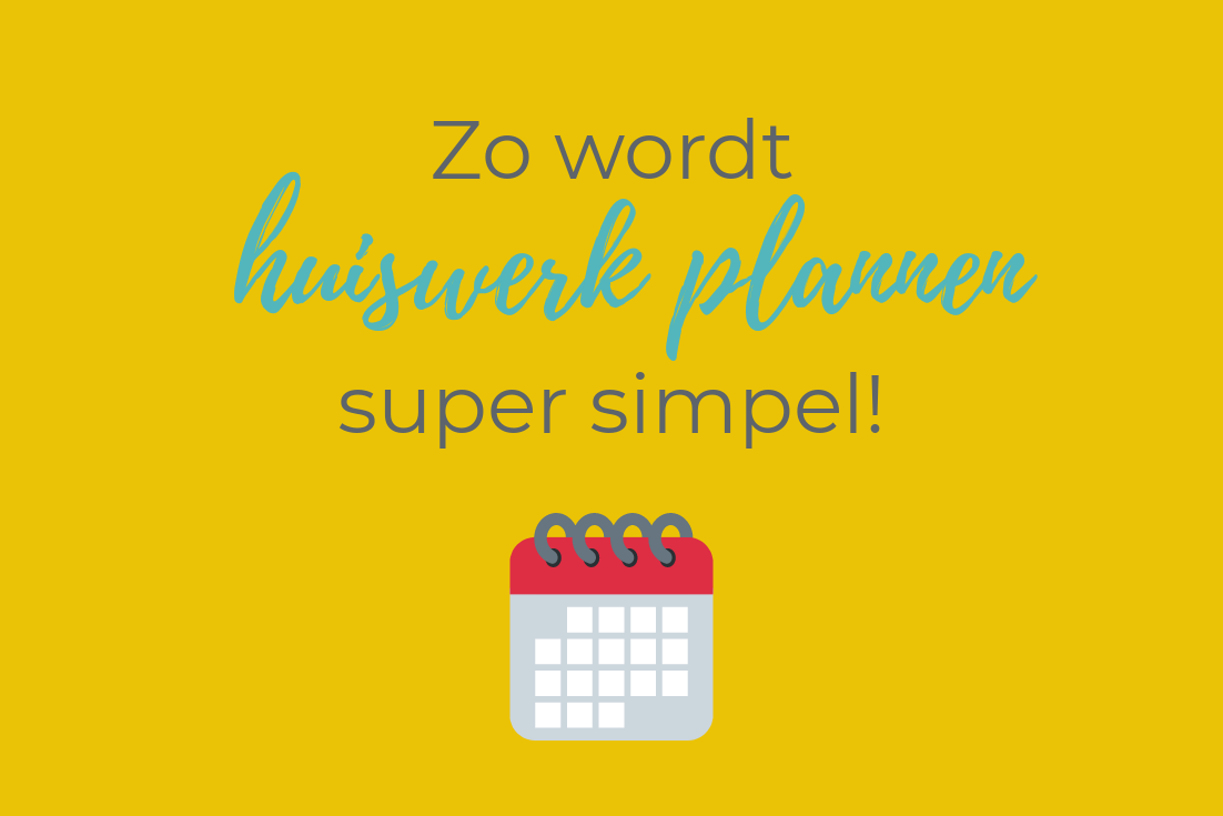 Zo wordt huiswerk plannen super simpel!