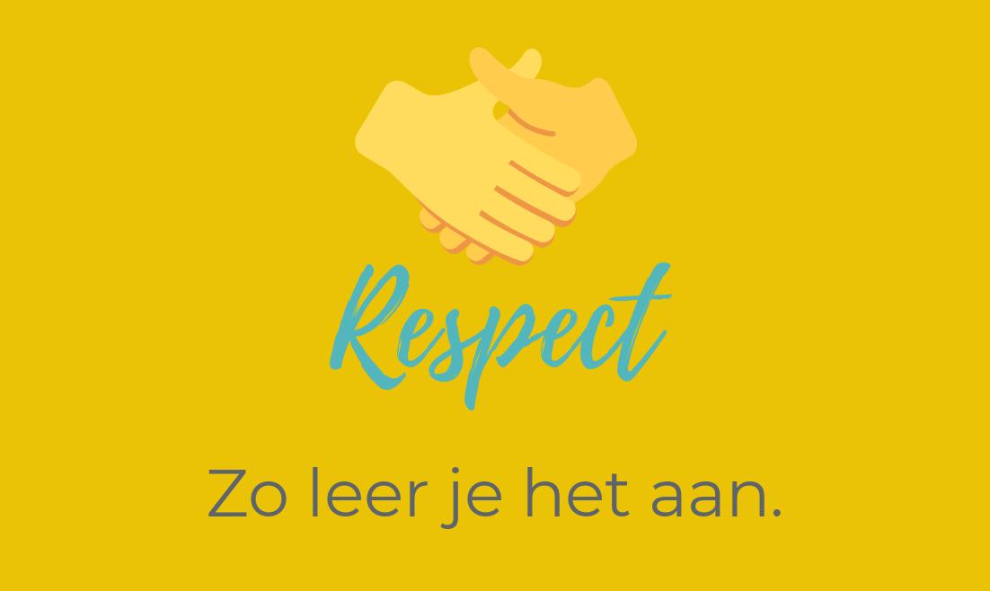 Zo leer je respect aan