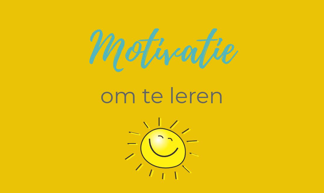 Intrinsieke motivatie stimuleren